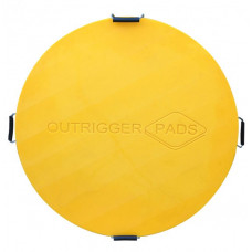 Hi-Viz Outrigger Pad - 1200mm x 60mm - 64kg