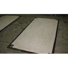Anti-Slip Steel Road Plate 1250mm x 1250mm x 13mm